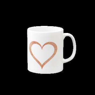 レオナのHeart マグカップ