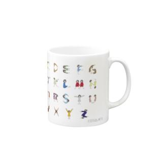 Alphabet マグカップ