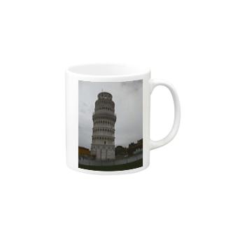 ピサの斜塔 Mugs
