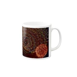 回転花火#001 Mugs