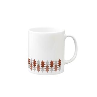 北欧葉っぱ Mugs