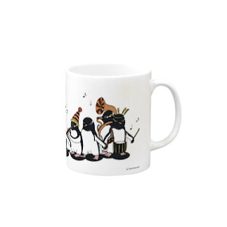 Carnival of penguins Mugs