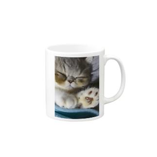 ひとにゃすみ Mugs