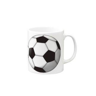 サッカーボール Mugs