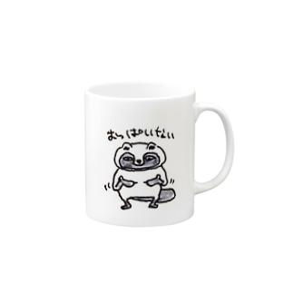 おっぱいない Mugs