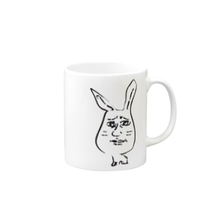 ヨナハアヤの気持ち悪いウサギ Mugs