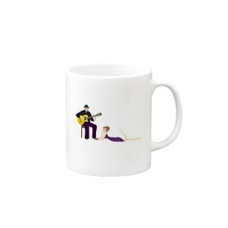 musician abe-san2 Mugs