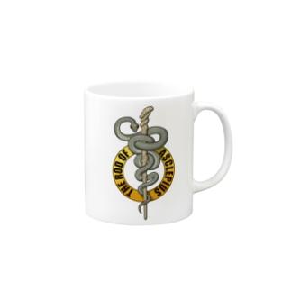 アスクレピオスの杖 Mugs