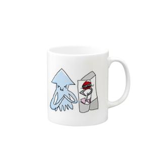 いか(UFOキャッチャー) Mugs
