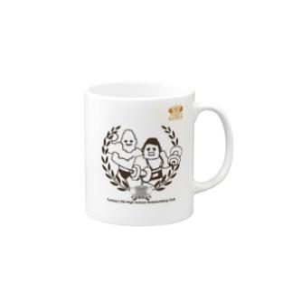 ボディービル部 Mugs