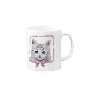 猫のmuffin Mugs
