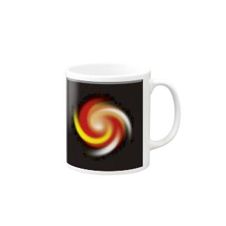 電磁波カット/宇宙効果SpaceArt「うたかた夢宇宙」 マグカップ