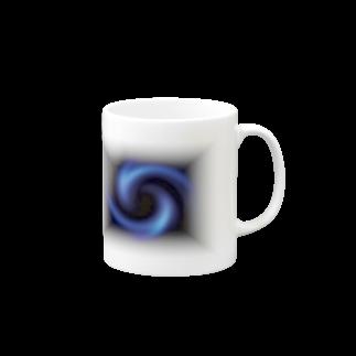 宇宙の贈りものの「瞑想エンブレム」 マグカップ
