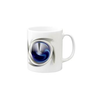 電磁波カット/宇宙効果SpaceArt「最果て銀河」 マグカップ