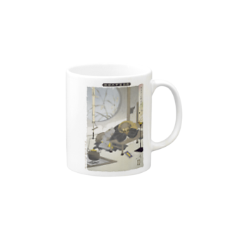 和もの雑貨 玉兎の新形三十六怪撰 茂林寺の文福茶釜【浮世絵・妖怪】 Mugs