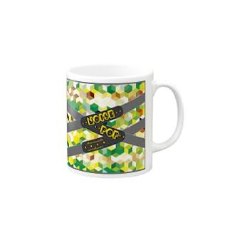 websitemodel(Green) Mugs