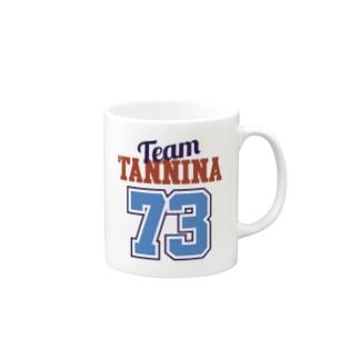 TEAM TANNINA BLUE マグカップ