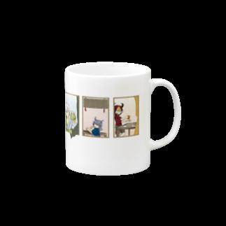 うさぎやの朝の一杯はきみと Mugs