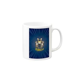 兜-KABUTO-世界征服 Mugs