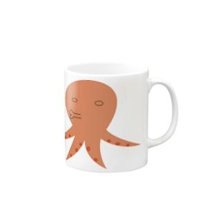 すげーイラッとするタコ Mugs