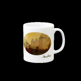 Taku SHIRAIの丸型Glorious Castle Mugs