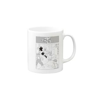 月刊タニシ最強巻貝伝説名場面劇場マグカップ マグカップ マグカップ