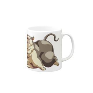 ニャンコ・デラックス マグカップ