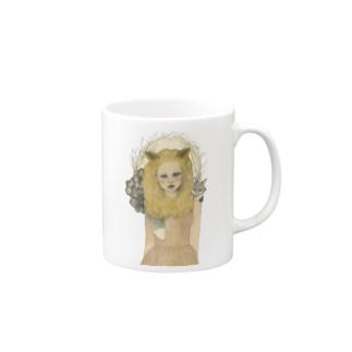 キツネガール Mugs