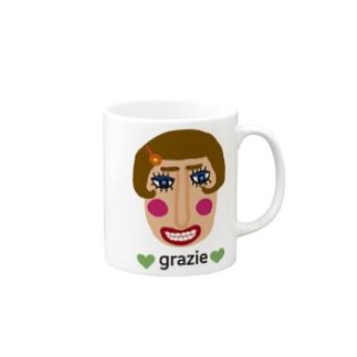 グラッチェ♥ Mugs