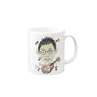 似顔絵(南さん) Mugs