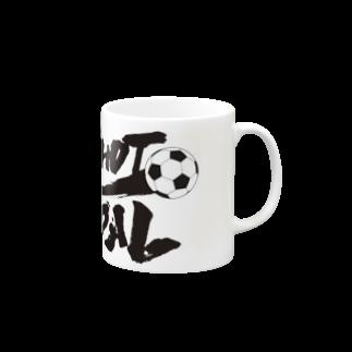 burnworks designのOne Shot One Goal Mugs