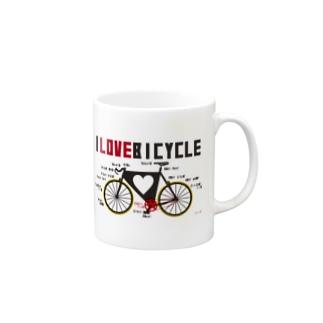 ilovebicycle Mugs