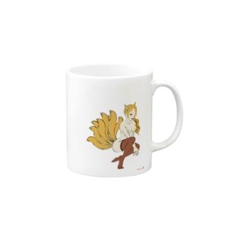 Fox-Nine-Tails Mugs