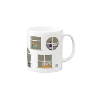 ハイカラアパートメントの窓 Mugs