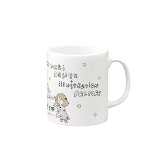 mochi factory Mugs