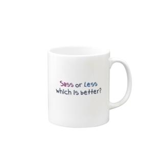 Sass or Less Mugs