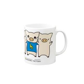 ヘノブタちゃん Mugs