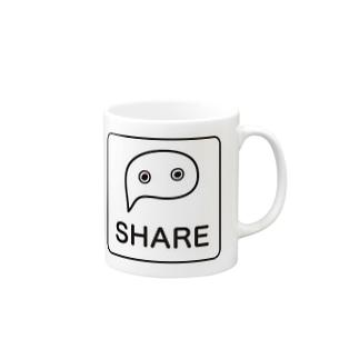 SHARE Mugs