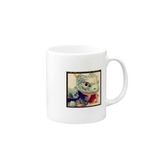 ベビードラゴン(小) Mugs