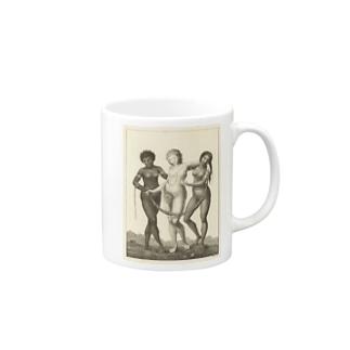 3大美女 Mugs