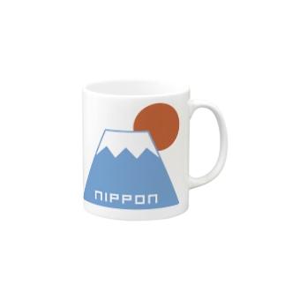 富士山 Mugs