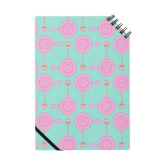 急須と湯呑み(ピンク) Notes
