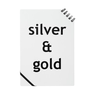 silver & gold Notes