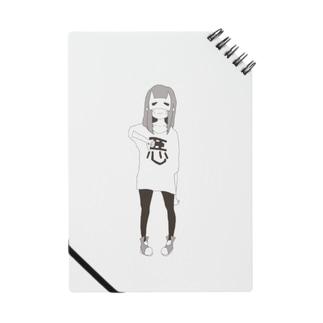 ワルイオトモダチ女の子mono Notes