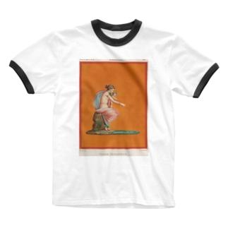 ポンペイ遺跡 Ringer T-shirts