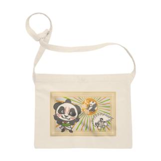 パンダ+歌舞伎 Sacoches