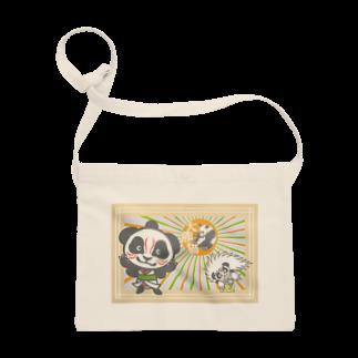 ザ・ワタナバッフルのパンダ+歌舞伎 Sacoches