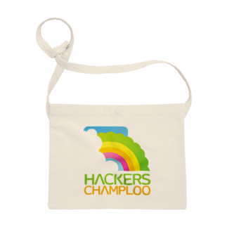 ハッカーズチャンプルーのハッカーズチャンプルーロゴ(正方形) Sacoches
