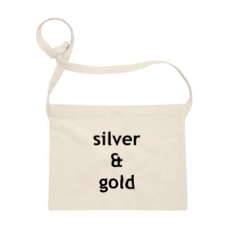 silver & gold Sacoches