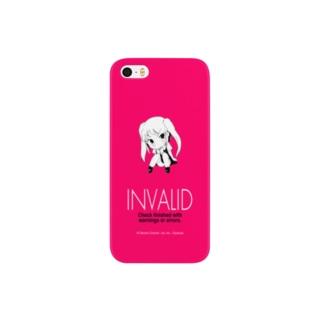 電書ちゃん Invalid シリーズ Smartphone cases